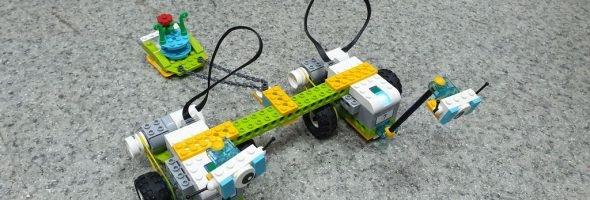 Открытие лаборатории робототехники